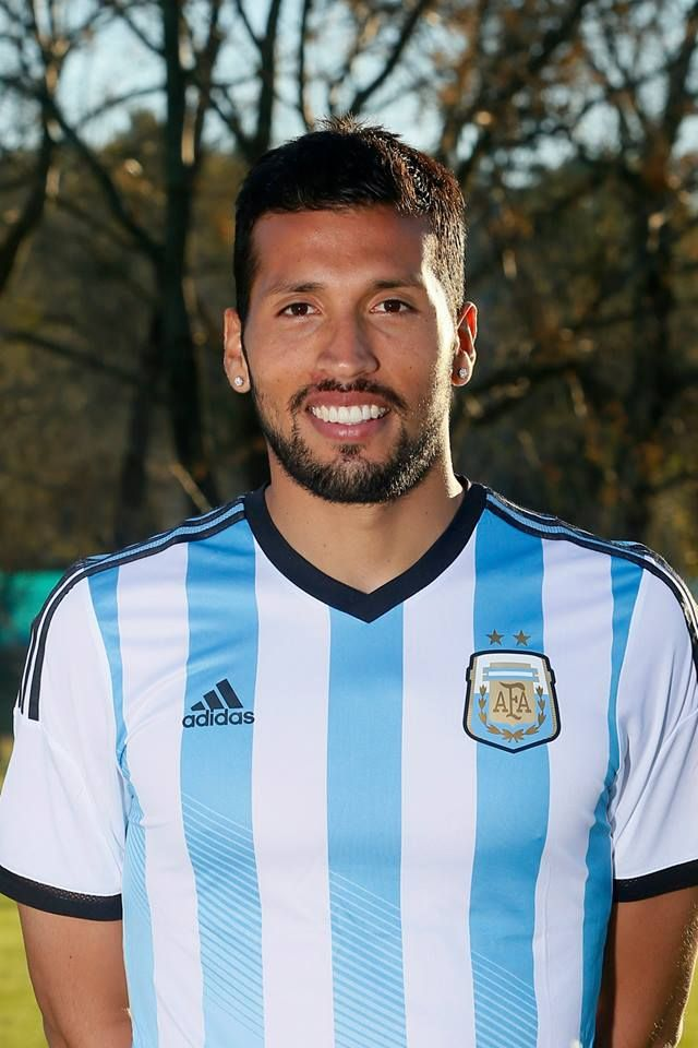 Jugadores de la selección Argentina Mundial Brasil 2014 - Ezequiel Garay