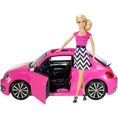 coffret barbie et sa new beetle marque mattel coffret barbie et sa new beetle de mattel. Black Bedroom Furniture Sets. Home Design Ideas