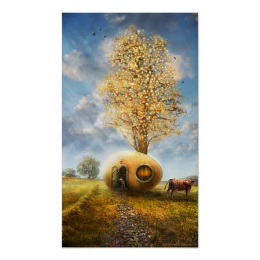 nil novi sub sole (autumn) - poster by Houk
