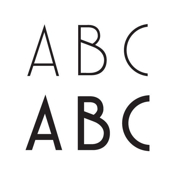 Free Typeface Deco Neue™ by Jonatan Xavier, via BehanceTypeface Neodeco 8482