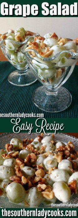 Grape salad is so easy and quick if you need a delicious salad for family and guests that only takes a few minutes to make. I love having this grape salad in the refrigerator for …
