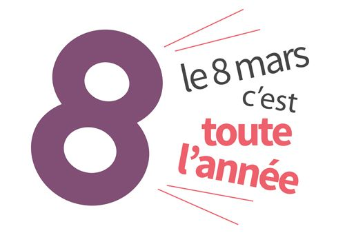 Il ne s'agit pas de « la journée de la femme » mais de la journée internationale des droits des femmes !!