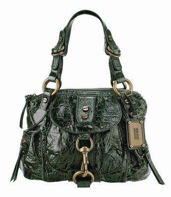 Handbag - Boss Orange - Taschen Trends - It-Bags - Handtaschen  - © Boss Orange Mit einem praktischen Format, dekorativen Details und dem tollen Croco-Look sorgt diese Handtasche von Boss Orange für Aufsehen. Ein weiterers Highlight ist der modische Grün-Ton der Tasche...
