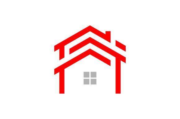 House Logo Graphic By Skyacegraphic0220 Creative Fabrica Home Logo Logo Graphic Logo Templates