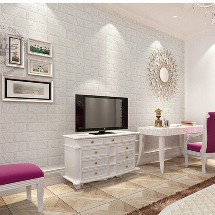 35 Modern Interior Design Ideas Incorporating Columns Into: 25+ Best Ideas About Brick Wallpaper Bedroom On Pinterest