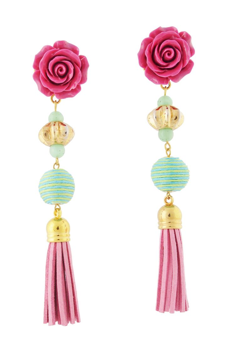 PITANGA Florence Pink Earrings