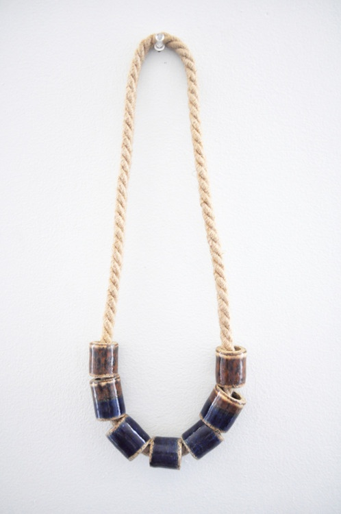 objandtotem: Jewelry Fave, 158 Object, Inspiration Jewelry, Beads Tube, Tube Necklaces, Totems Dusk, Lizz Necklaces, Jewelry 2, Products Packaging