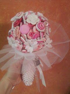 button wedding bouquet