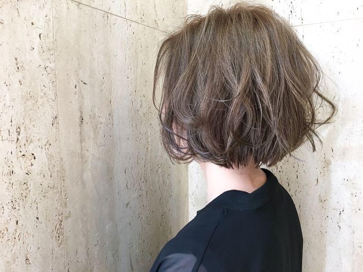 麻生 美穂さんのヘアカタログ | 大人かわいい,ゆるふわ,外国人風,アッシュ,ハイライト | 2016.06.12 22.44 - HAIR