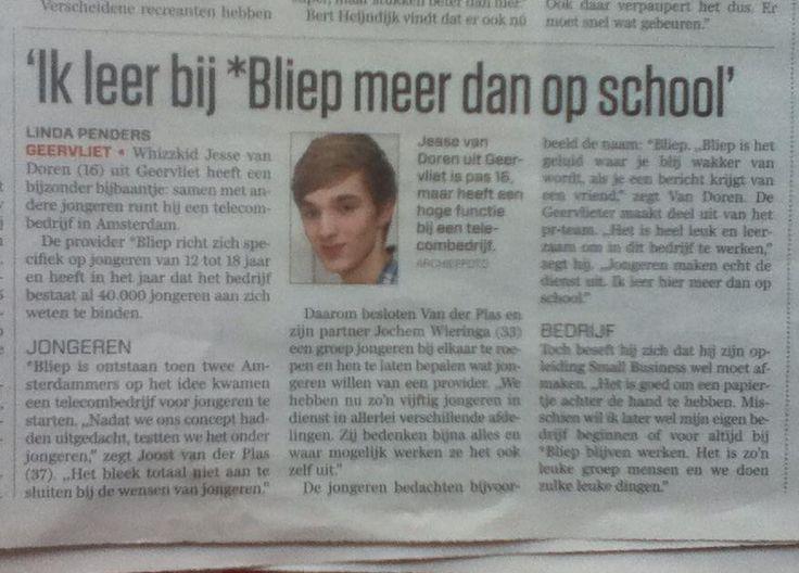 Jesse van Doren - Algemeen Dagblad (AD)