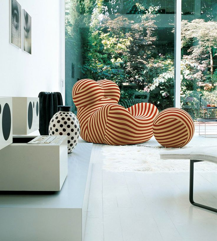 Armchair Serie Up 2000  Bu0026B Italia   Design Of Gaetano Pesce