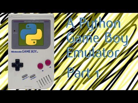 Writing Game boy emulator in Python #python | Python
