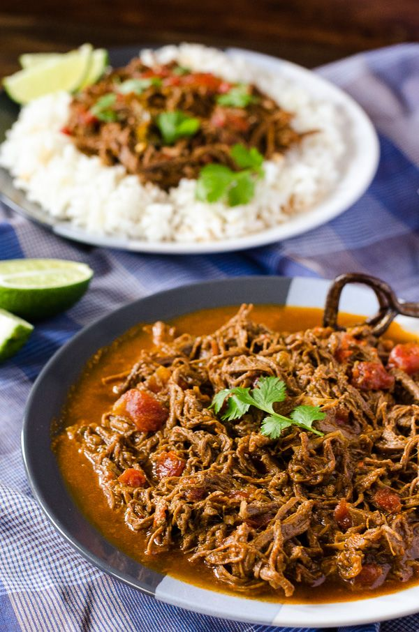 Spanish for 'old clothes' thanks to its shredded appearance, this flavorful Cuban dish is made with lean beef and makes for a healthy Sunday Supper.