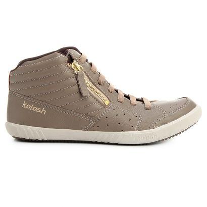 Compre Tênis Kolosh Cano Alto Zíper Lateral Creme na Zattini a nova loja de moda online da Netshoes. Encontre Sapatos, Sandálias, Bolsas e Acessórios. Clique e Confira!