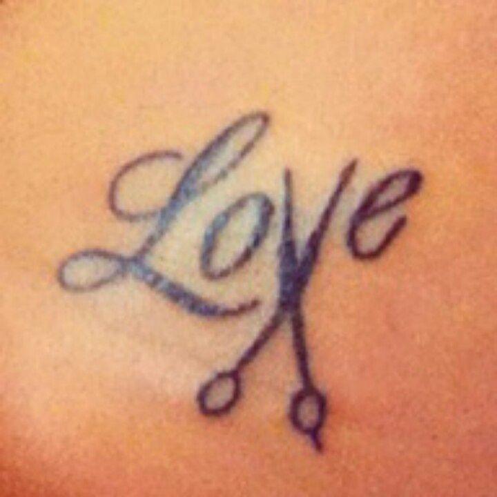 Hairdresser Tattoos Hairdresser tattoos and