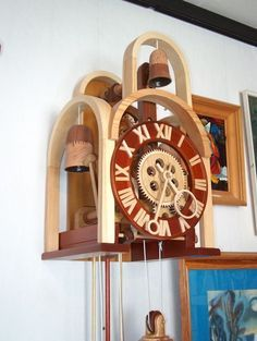Wooden Clock Andrew Martyniuk