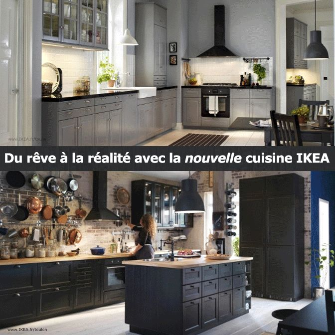 Best Cuisine Images On Pinterest Ikea Kitchen Backsplash And - Ikea valence drome pour idees de deco de cuisine