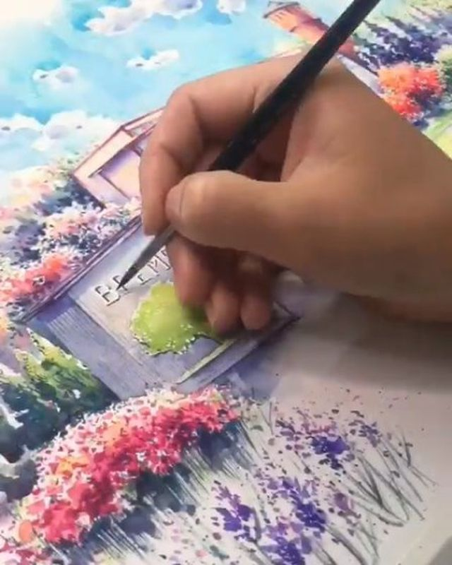 Best Watercolor Art On Instagram Best Art In