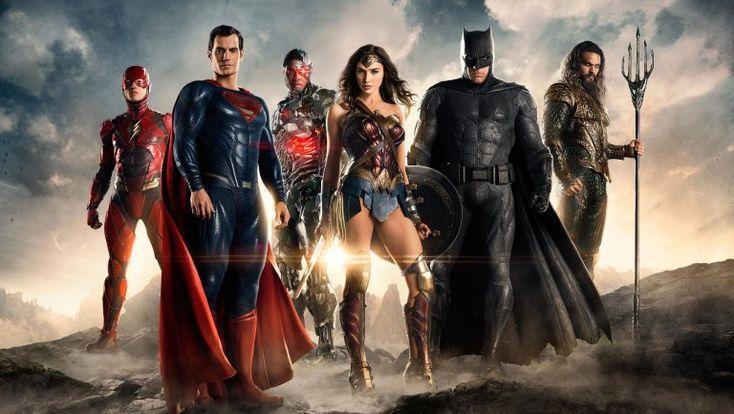 Justice League Official Comic-Con Trailer (2017)