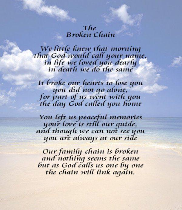 Image result for the broken chain poem