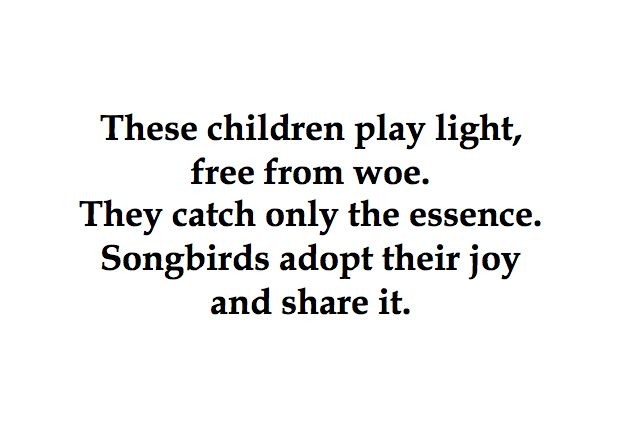 These children play light