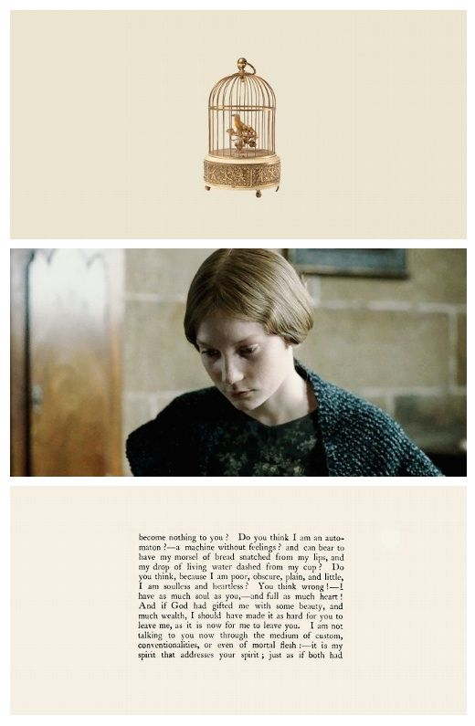 jane eyre compares to the eyre Charlotte brontë's jane eyre was an instant bestseller from the moment  in  comparison would appear to have been translated relatively early.