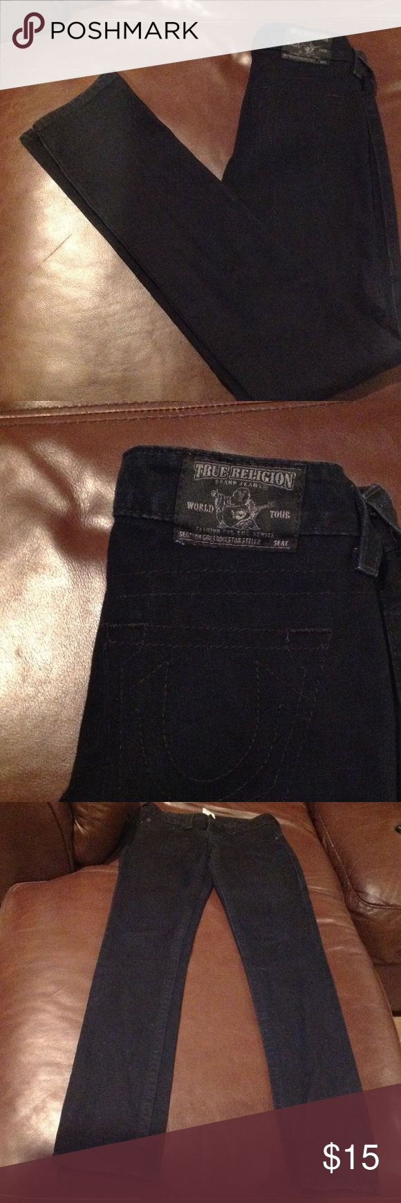 True religion Jeans True religion jeans size 14 navy blue. Great condition True Religion Jeans Boot Cut