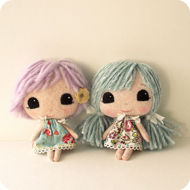 mini moppets by Gingermelon, via Flickr