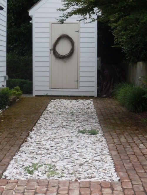 How To Cover Paths With Crushed Seashells Gardenoholic