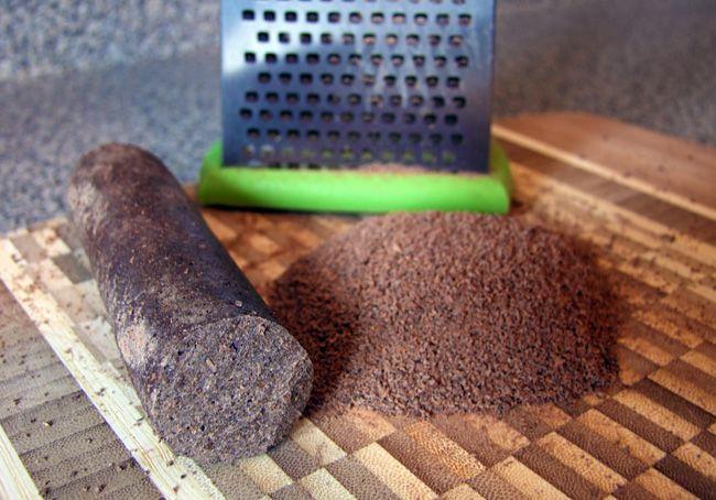 Cocoa Tea: Grated Cocoa Stick - St. Lucia