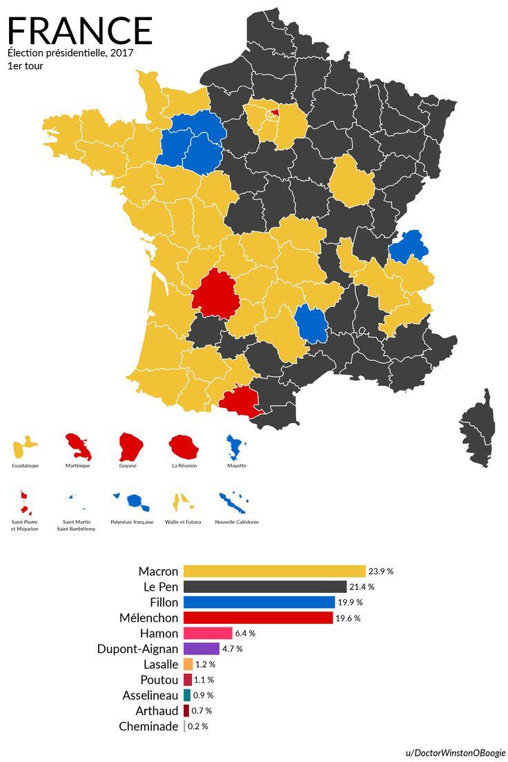 France: élection présidentielle 2017, 1er tour