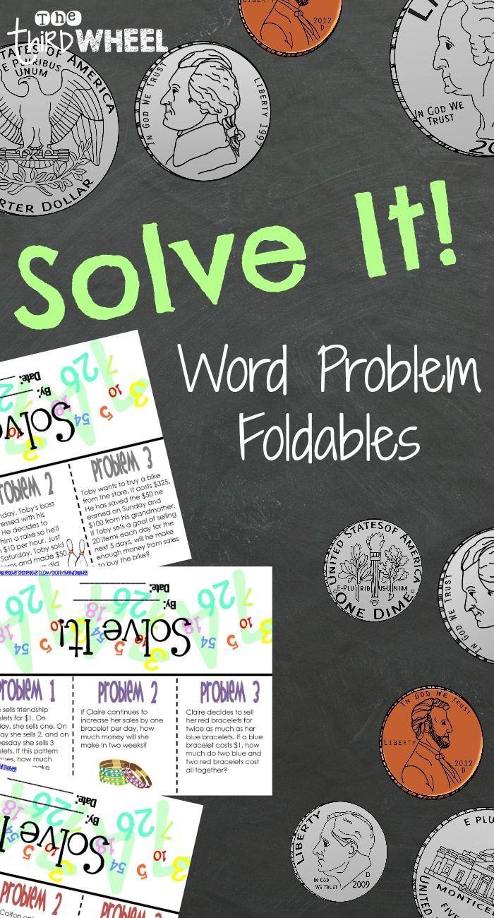 Math Word Problems: Money
