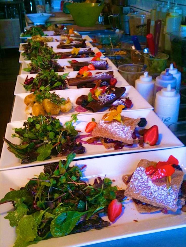 Brunch at Live Organic Food Bar
