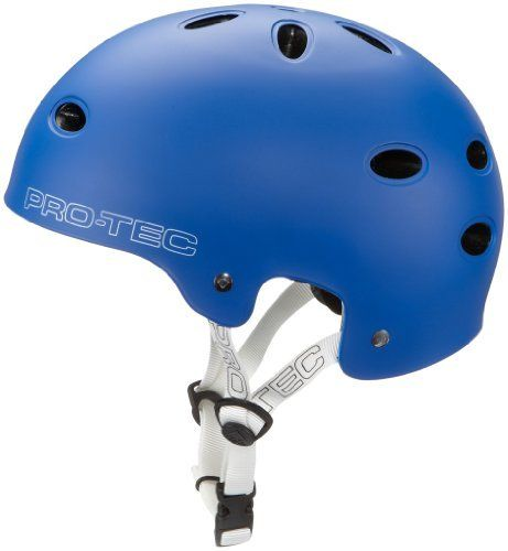 ProTec B2 Bike SXP BMX helmet Gentlemen matte blue blue (Head circumference: 59-60 cm) by Pro-Tec. $71.99. Type/Intended use: BMXConstruction: shell contractionAdjustment system: click helmet fastener with adjustable side strapsSize information: S (53-54 cm); M (55-56 cm); L (57-58 cm); XL (59-60 cm)Compliance: EN 1078Material: exterior shell: high-impact ABS; interior shell: multi-impact SXP; inside: PU foam with NylexAdditional Information: additional safety standards: AS...