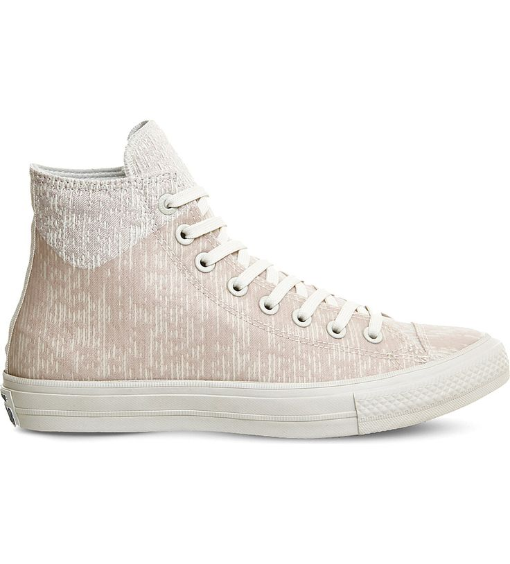 CONVERSE All Star patterned canvas trainers