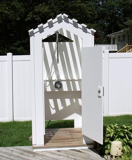 How To Build An Outdoor Bathroom: 17 Best Images About Outdoor Shower Stalls On Pinterest