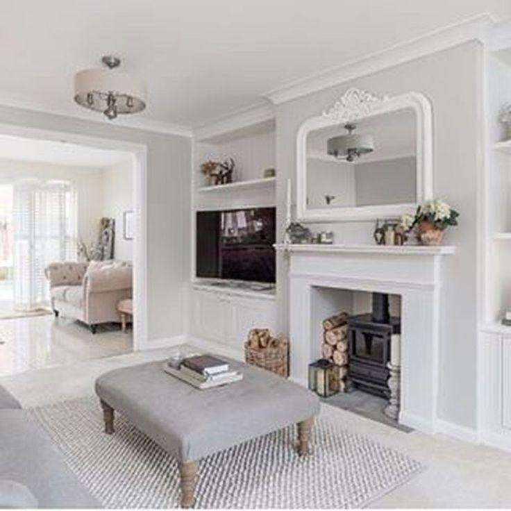 46 Lovely Easter Living Room Decor Ideas