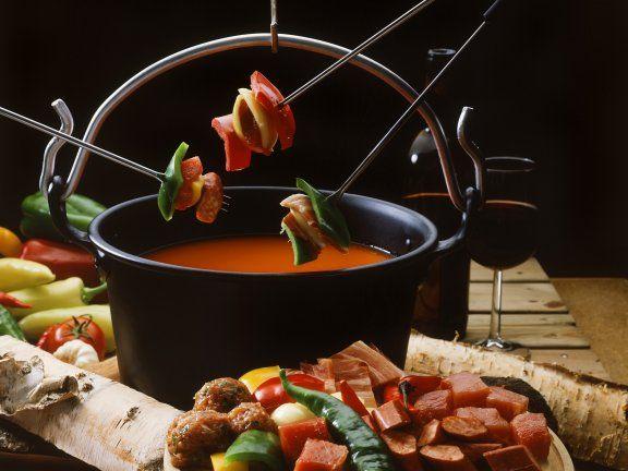 66 best fondue rezepte images on pinterest fondue. Black Bedroom Furniture Sets. Home Design Ideas