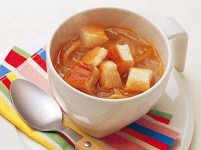 オニオンスープ<ブイヨン・ウスター・バター>