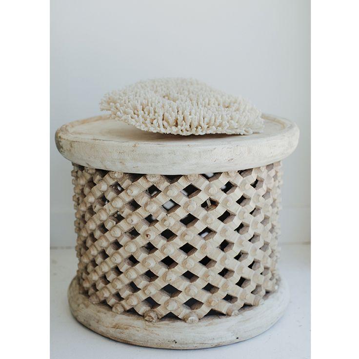 Manyara Home Furniture Bamileke Stool Or Side Table