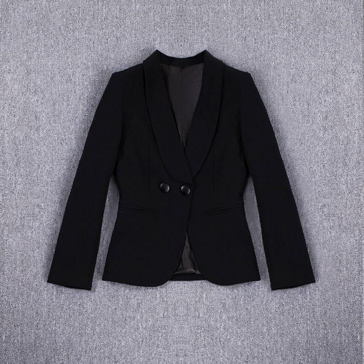 Women Blazers Spring 2016 New Fashion Black Women Blazers and Jacket aliexpress.com