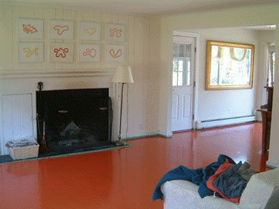 How To Paint Your Floors and Not Screw it Up - Best 20+ Wood Floors Plus Ideas On Pinterest Modern Living Room