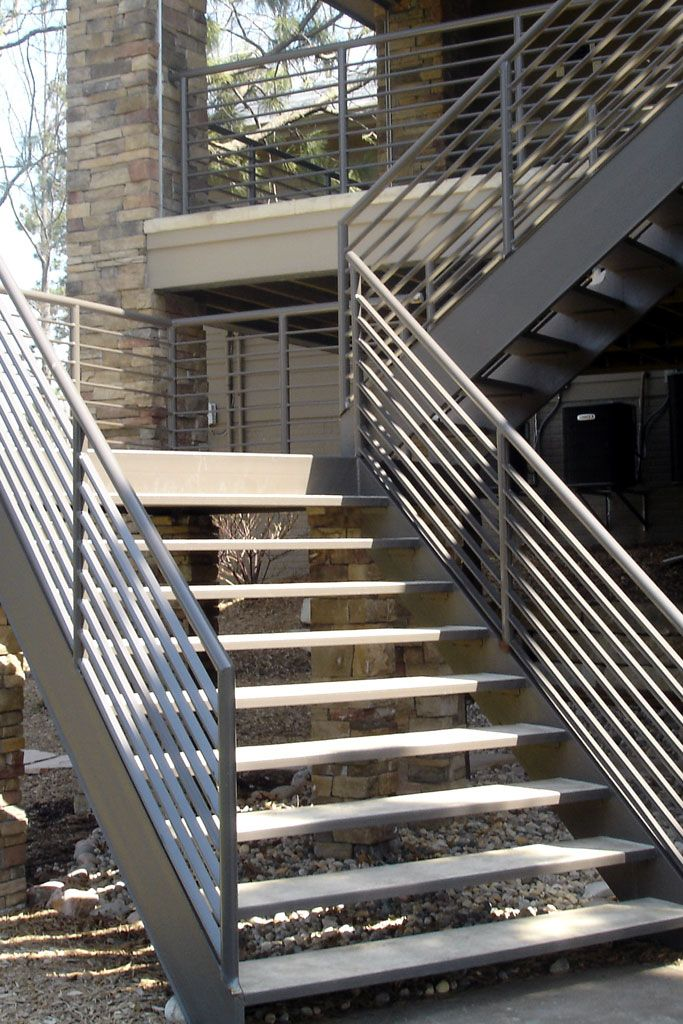 Curved metal stair railing google search commonwealth - Metal railings for stairs exterior ...