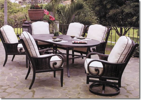Patio Furniture - Looks like some comfy chairs :-)