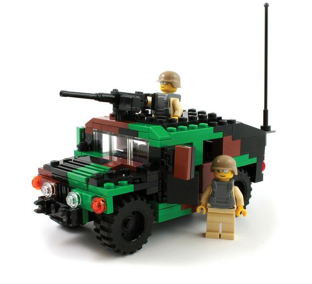 Humvee with NATO Cammo   Flickr - Photo Sharing!