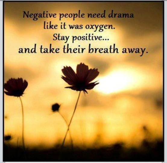 Quotes About Negative People: Negative People Need Drama!