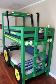 tractor bunk bed this is a must have in my house!!!