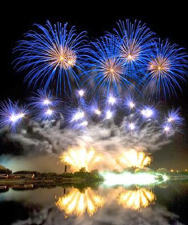 British Musical Fireworks Championships. Southport 2007.