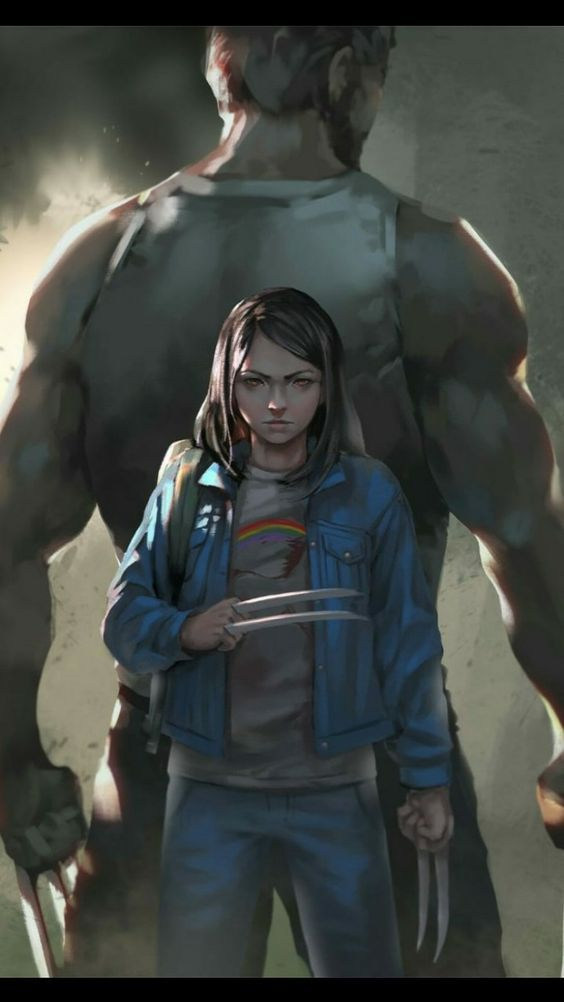 Logan and X23 art #logan #x23 #marvel #xmen #cosplayclass