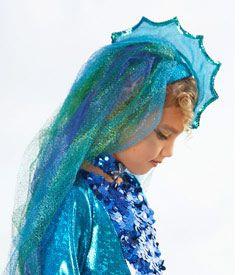 tropical angelfish headpiece child costume accessory - Chasing Fireflies